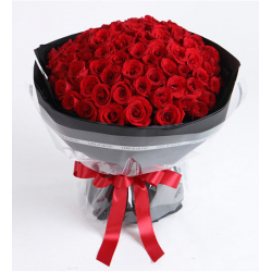 send 100 red roses bouquet to cebu