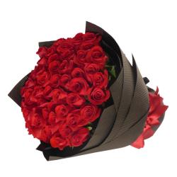 send gorgeous beautiful 50 red roses to cebu