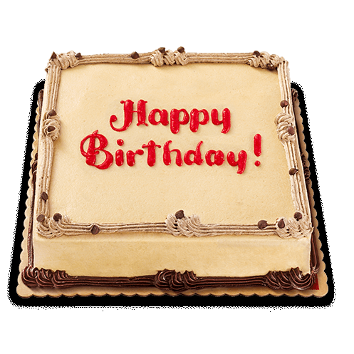Brilliant Buy Red Ribbon Junior 8X8 Mocha Dedication Cake In Cebu Philippines Funny Birthday Cards Online Inifofree Goldxyz